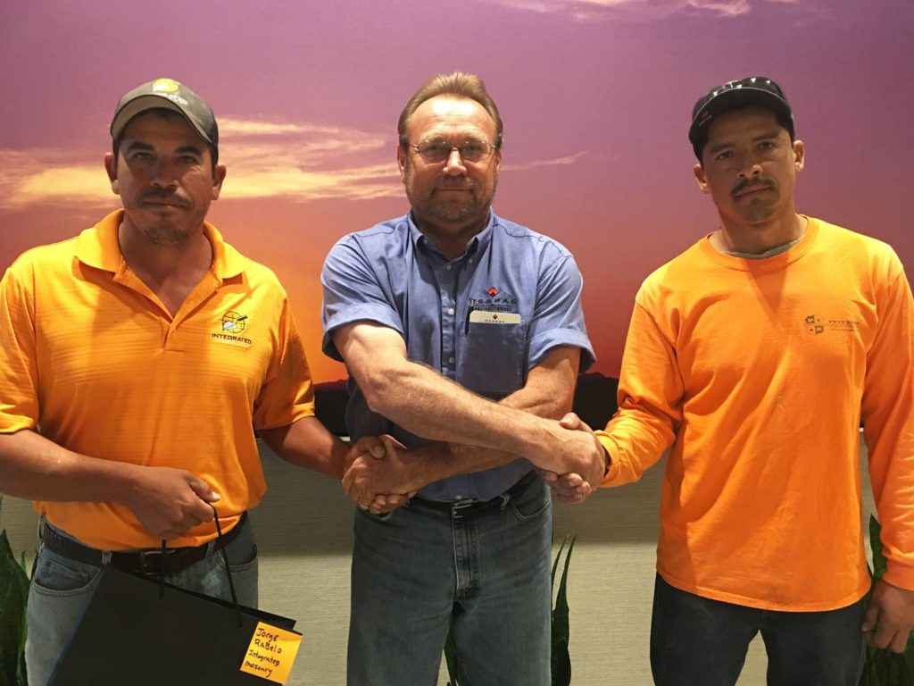 Pete King Construction Safety Award from Wespac